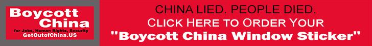 American Jobs Alliance - Boycott China