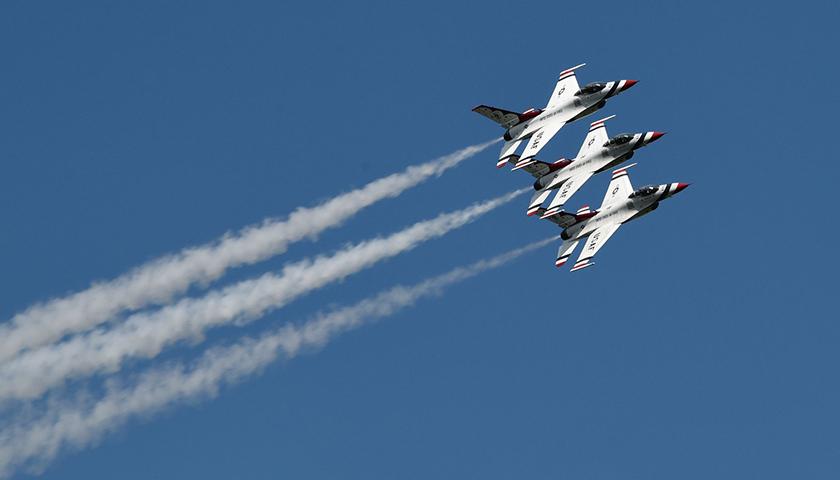 U.S. Air Force in flight
