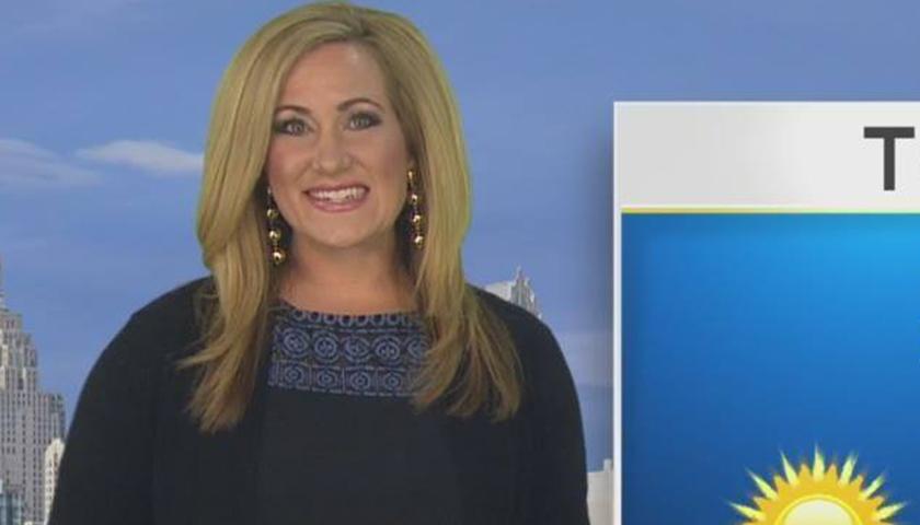 Meteorologist April Moss
