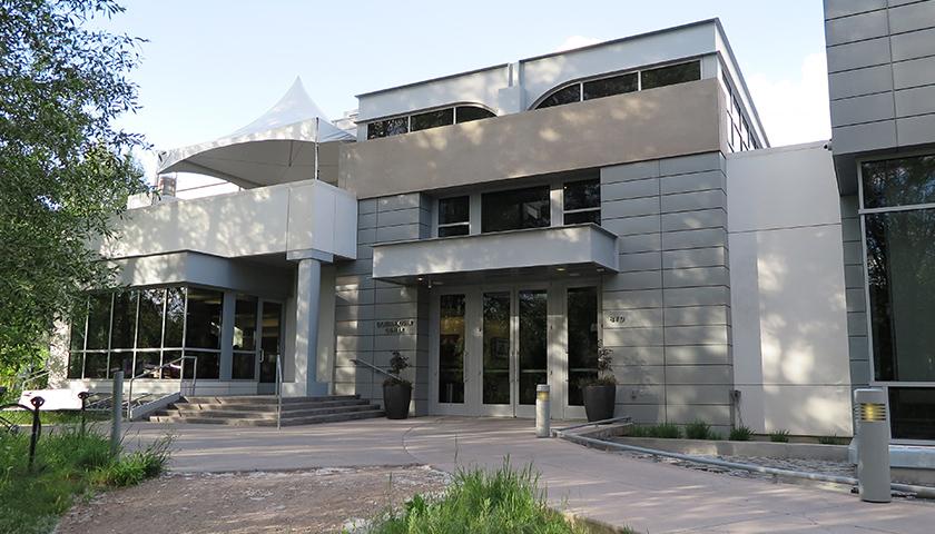 Front of the Doerr-Hosier Center at the Aspen Institute