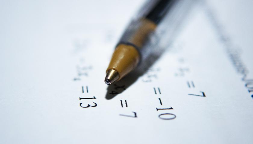 Black Pen on Equations