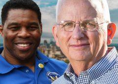 Herschel Walker and Gary Black